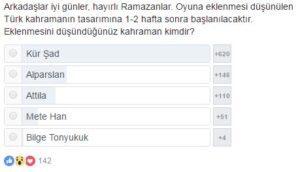 Mobile Legends Türk Kahraman Kim Olsun Anketi
