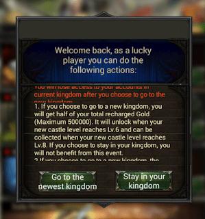Kalenizi Yeni Krallığa Taşıyın - Clash of Kings
