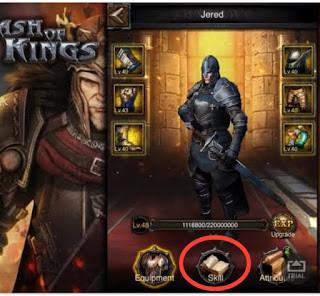 Clash of Kings kahraman yetenekleri