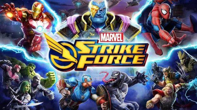 Marvel Strike Force - Mobil Oyun Tanıtım