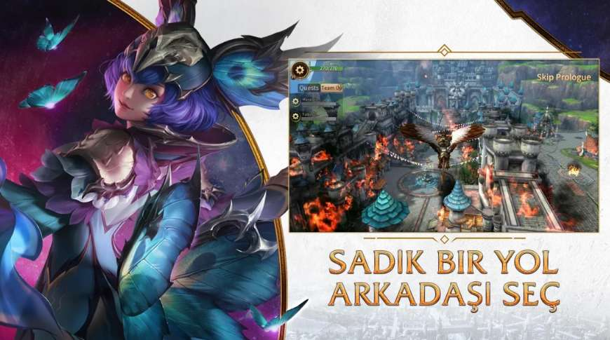 era of legends yeni android oyunu