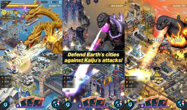 godzilla defense force mobil oyun android ios