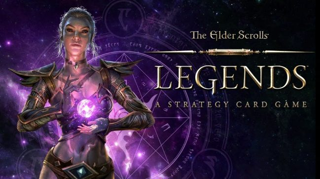 elder scrolls legends mobil kart destesi oyunu
